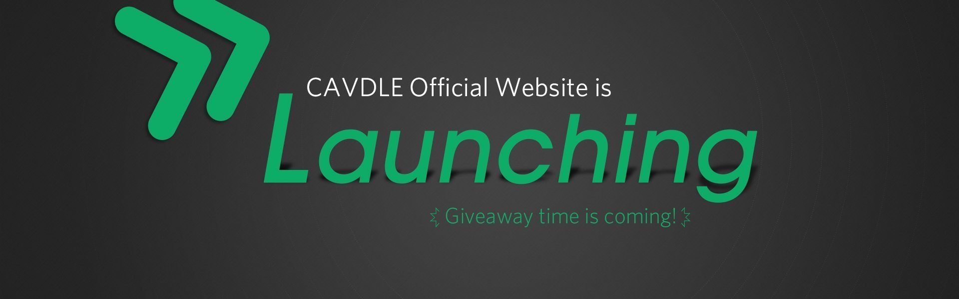 website launching giveaway